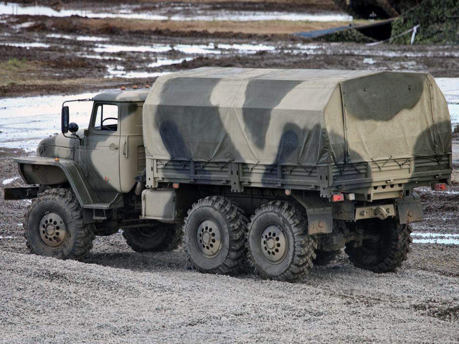 1993 Ural 4320-10 6x6 offroad truck trucks military w wallpaper