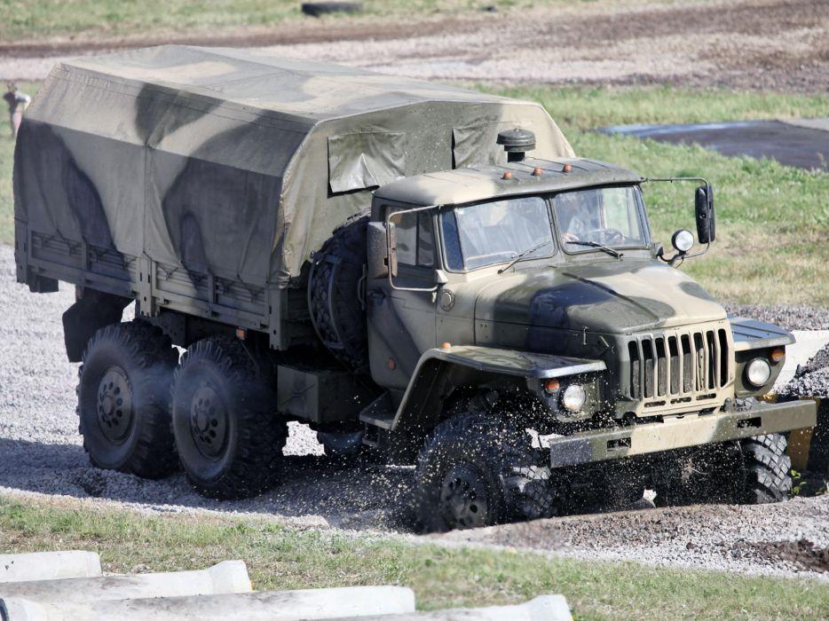 1993 Ural 4320-10 6x6 offroad truck trucks military wallpaper