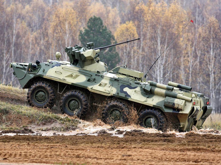 1994 GAZ 59034 APC-82 military 8x8 weapon weapons gun guns      g wallpaper