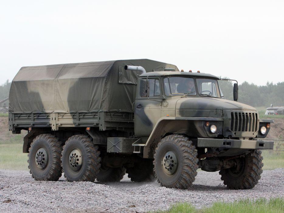 1993 Ural 4320-10 6x6 offroad truck trucks military f wallpaper
