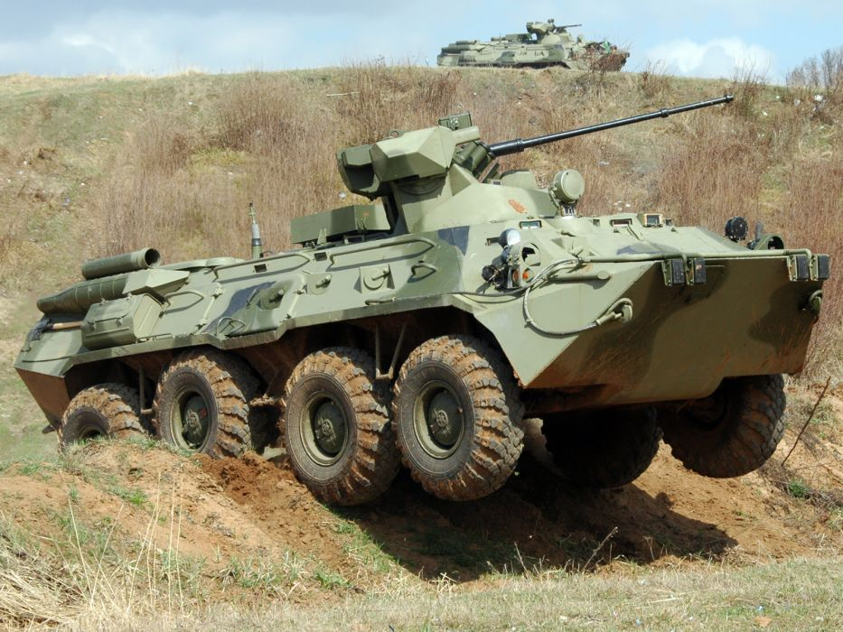 1994 GAZ 59034 APC-82 military 8x8 weapon weapons gun guns w wallpaper