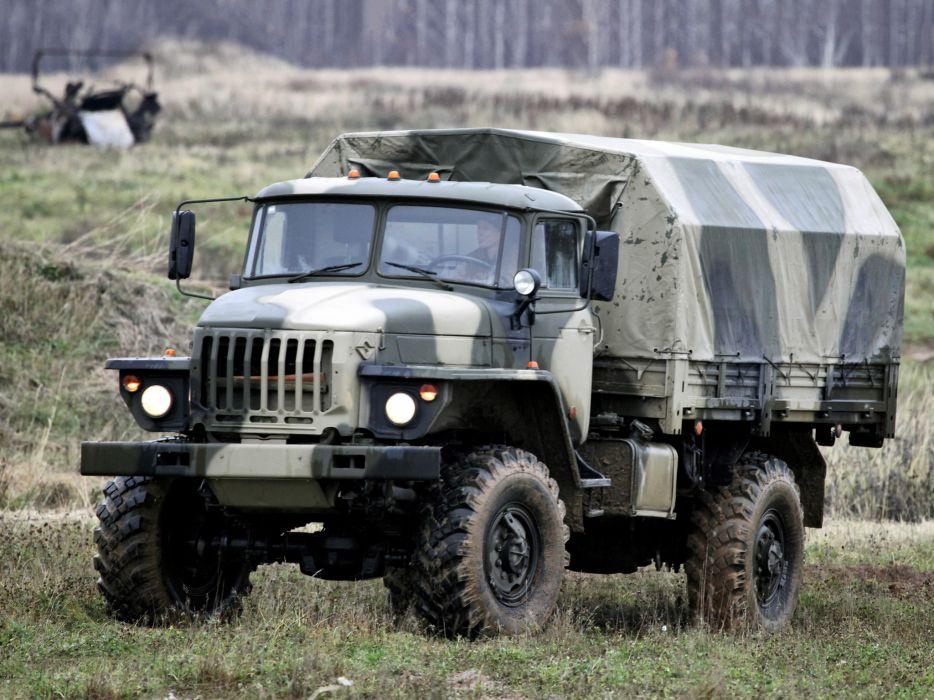 1996 Ural 43206-0111-31 military truck trucks 4x4 q wallpaper