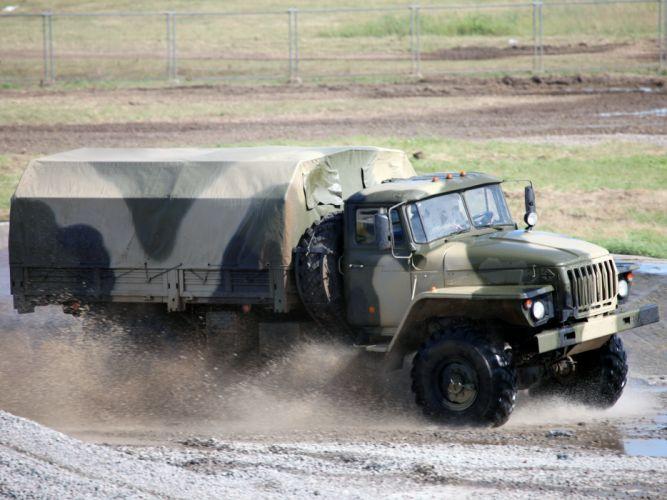 1996 Ural 43206-0111-31 military truck trucks 4x4 wallpaper