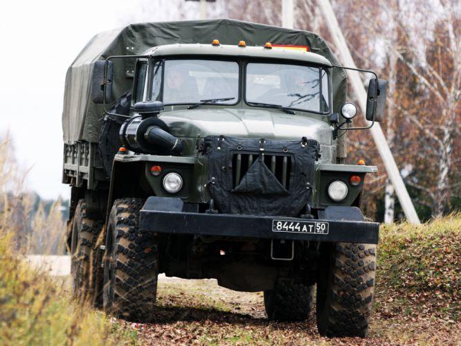 1996 Ural 43206-0111-41 military 4x4 truck trucks d wallpaper