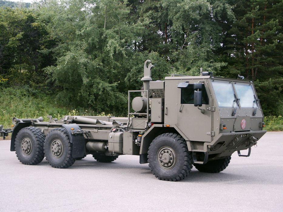 1998 Tatra T815-7 6x6 military truck trucks q wallpaper