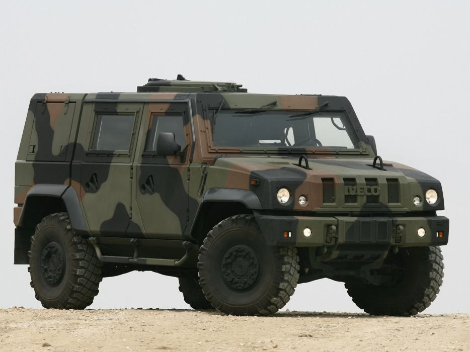 2000 Iveco Lince LMV suv 4x4 offroad truck trucks military d wallpaper