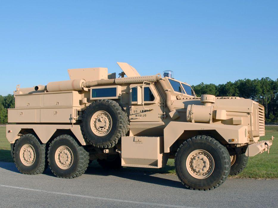 2002 Cougar 6x6 PPV military truck trucks offroad wheel wheels wallpaper