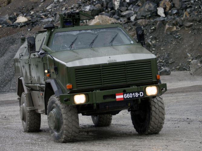 2004 KMW Dingo TWO 4x4 military offroad apc weapon weapons g wallpaper