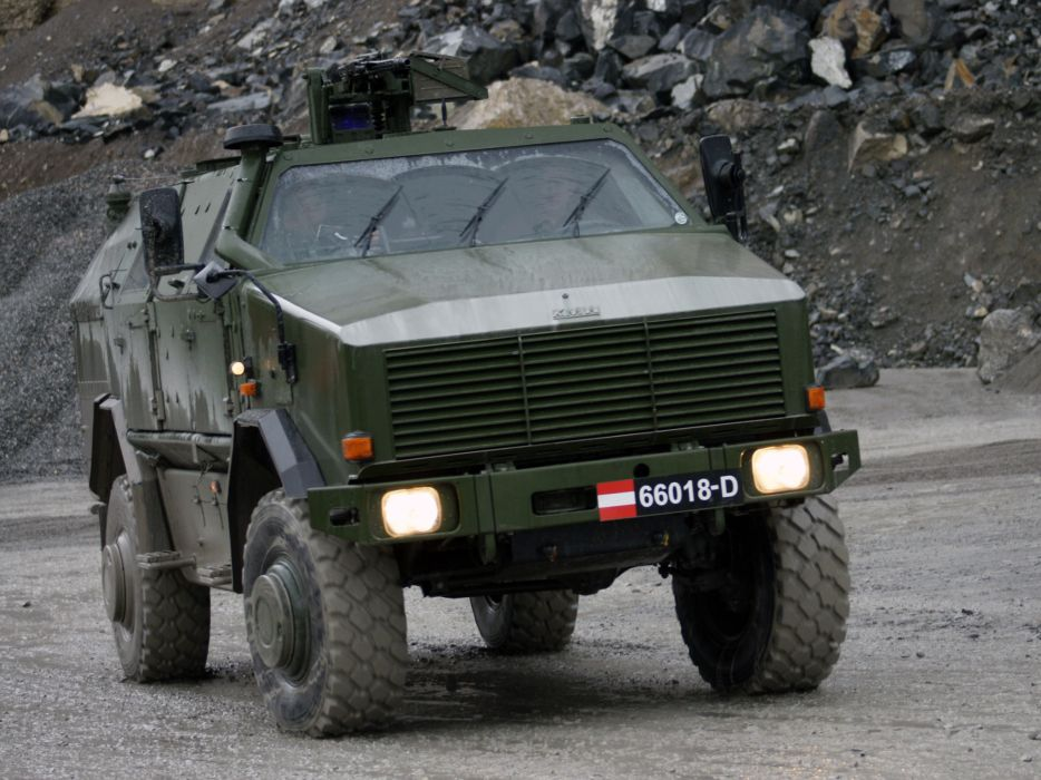 2004 KMW Dingo TWO 4x4 military offroad apc weapon weapons  g wallpaper