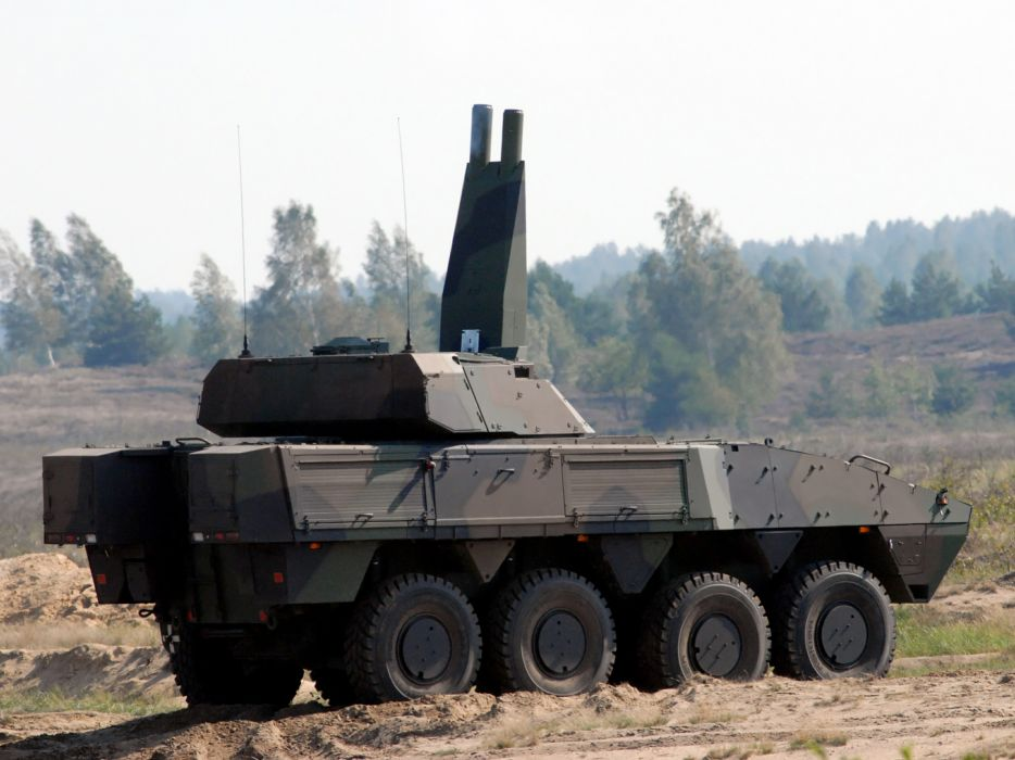2004 Patria AMV 8x8 AMOS military weapon weapons wallpaper