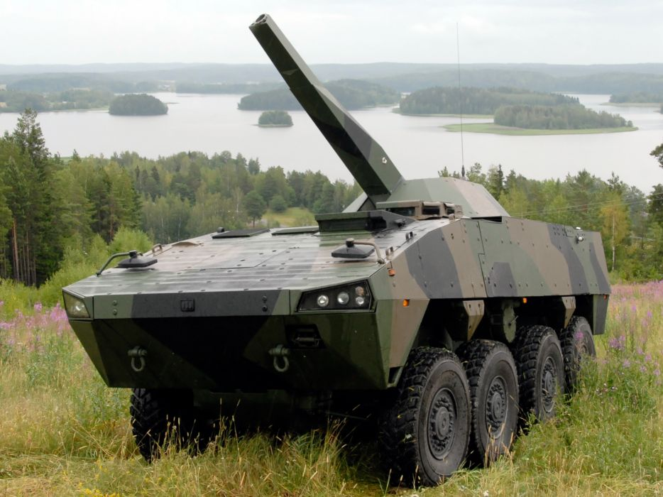 2004 Patria AMV 8x8 NEMO military weapon weapons   g wallpaper