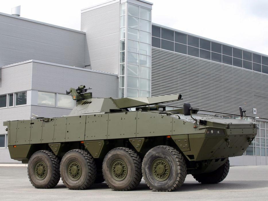 2004 Patria AMV 8x8 NEMO military weapon weapons wallpaper