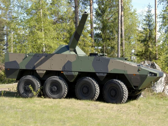 2004 Patria AMV 8x8 NEMO military weapon weapons f wallpaper