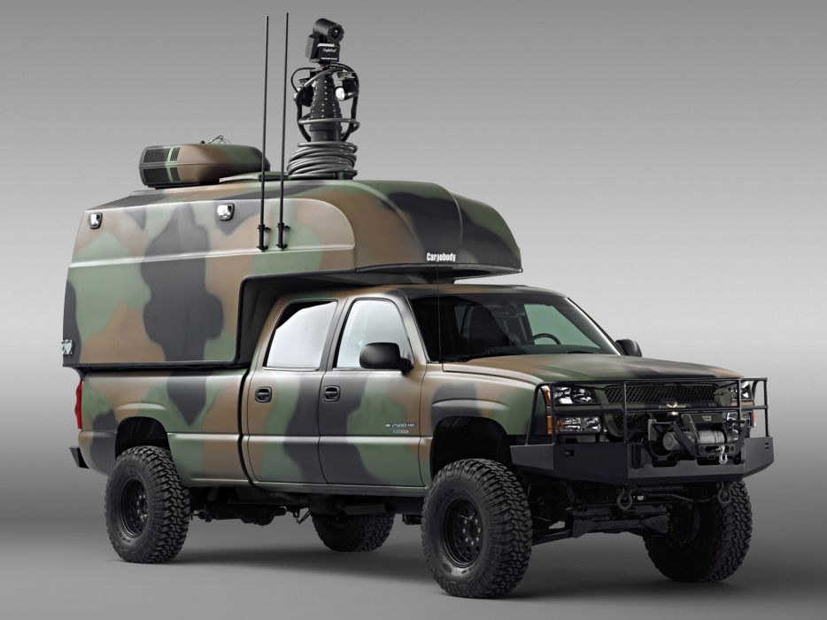 2005 Chevrolet Silverado military 4x4 offroad truck trucks ...