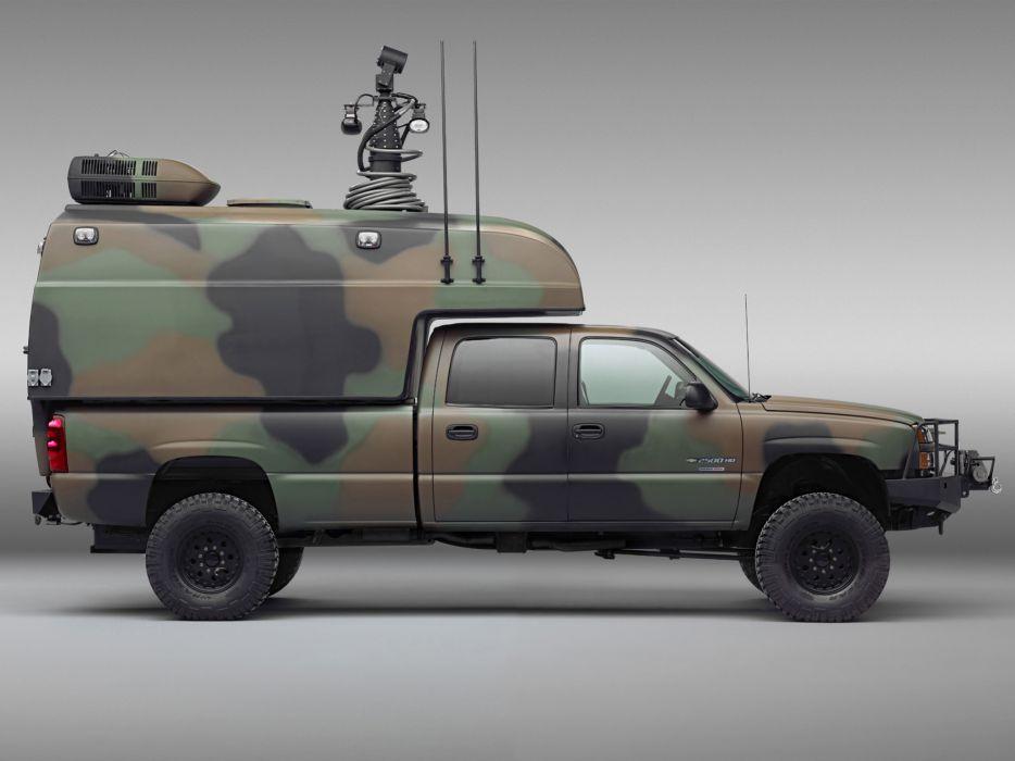 2005 Chevrolet Silverado military 4x4 offroad truck trucks      g wallpaper