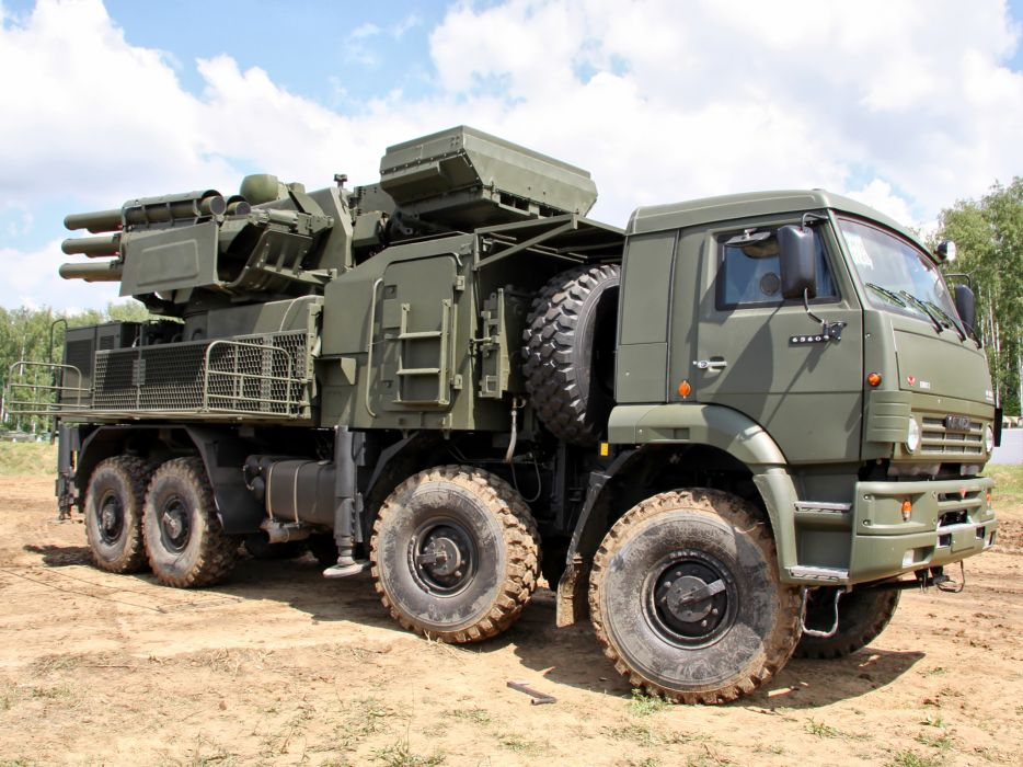2006 Kamaz ZRPK military missile weapon weapons 8x8    f wallpaper