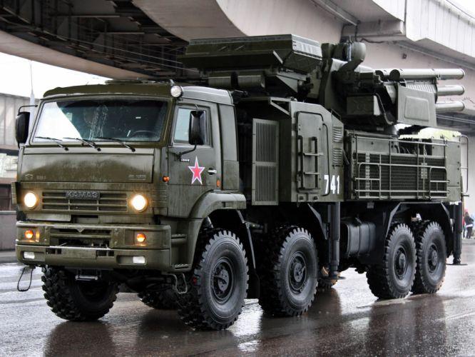 2006 Kamaz ZRPK military missile weapon weapons 8x8 wallpaper