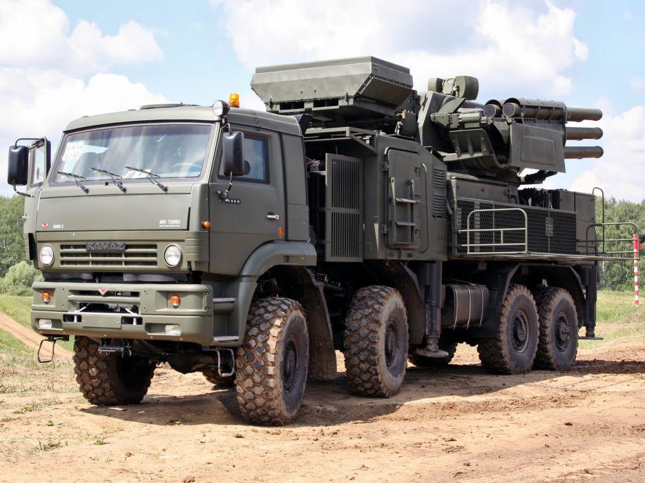 2006 Kamaz ZRPK military missile weapon weapons 8x8 w wallpaper