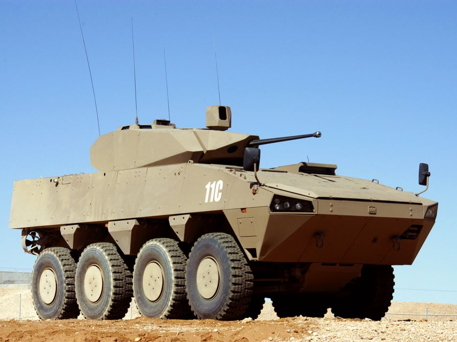 2006 Patria AMV 8x8 Denel LCT military weapon weapons wallpaper