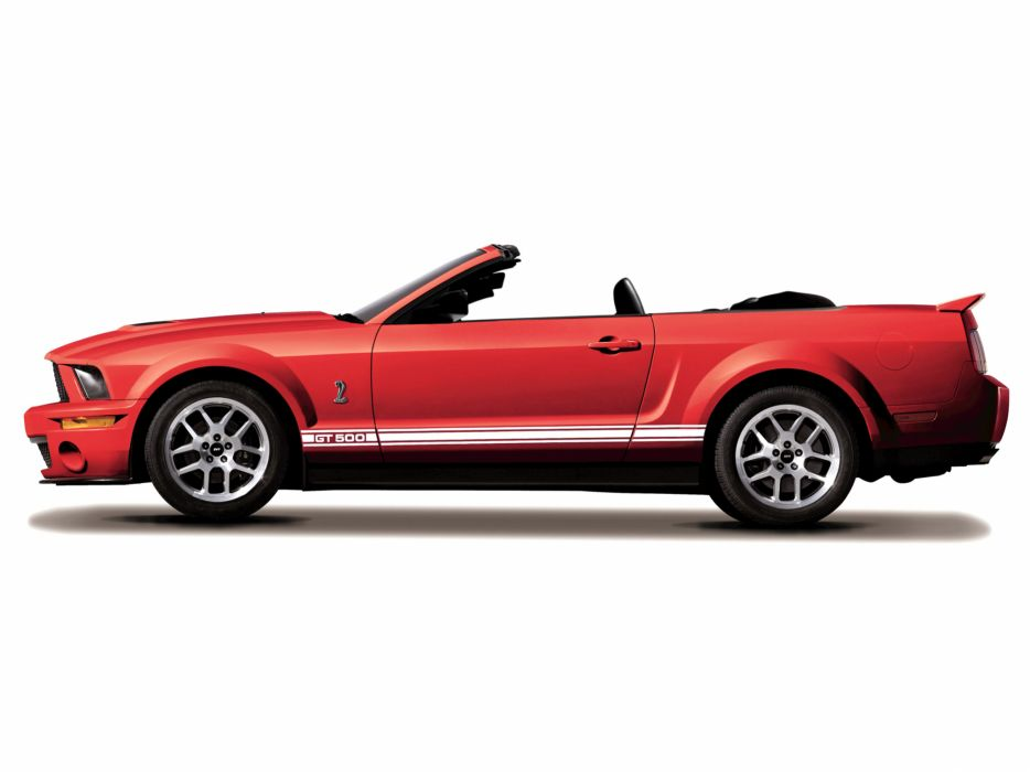 2006 Shelby GT500 Covertible ford mustang muscle wallpaper