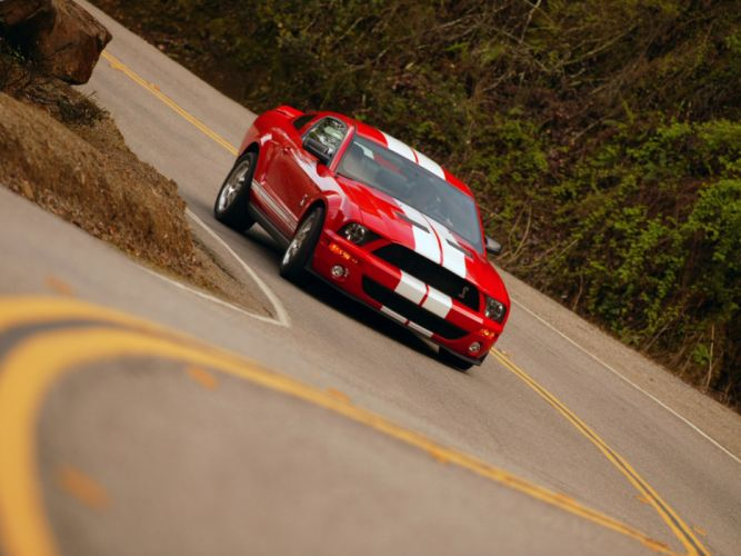 2006 Shelby GT500 ford mustang muscle t wallpaper