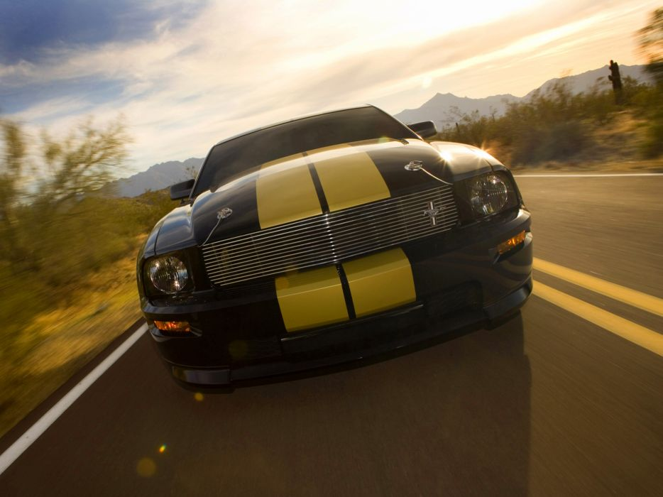 2006 Shelby GT-H ford mustang muscle    f wallpaper