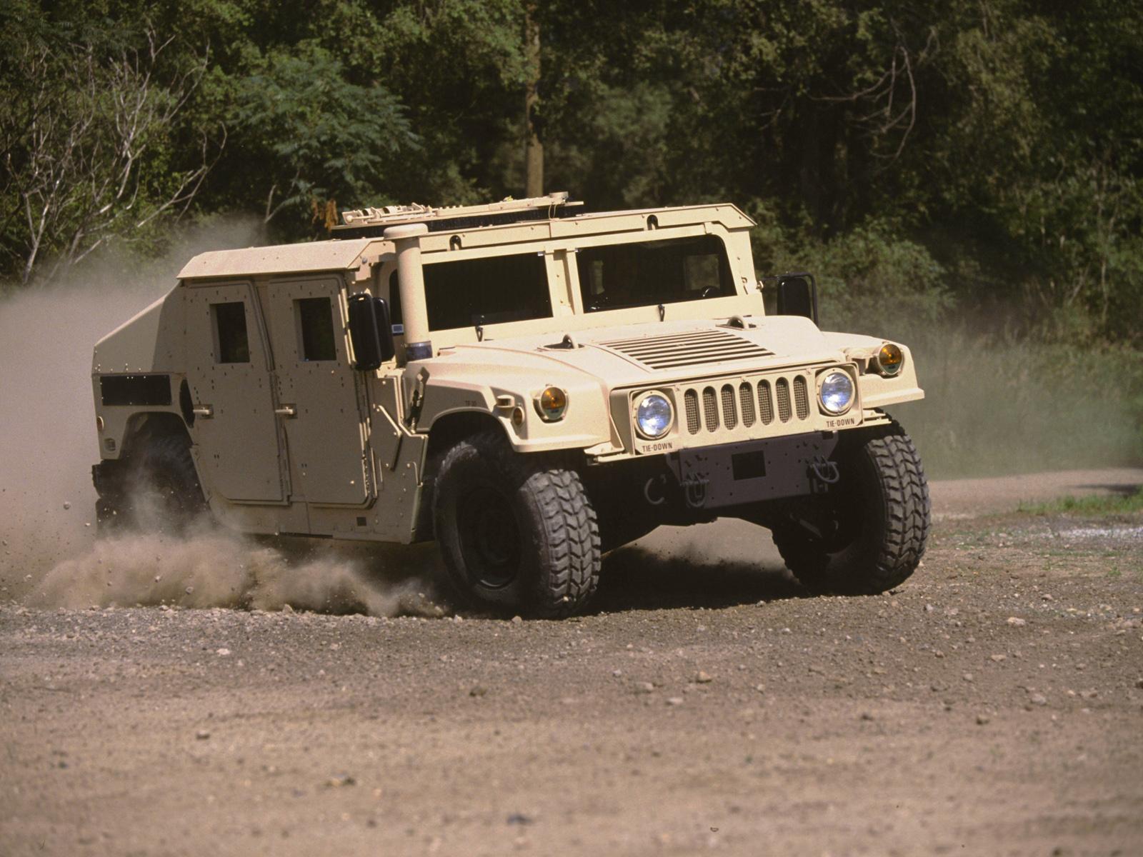 2007 HMMWV M1165 hummer military 4x4 offroad f wallpaper