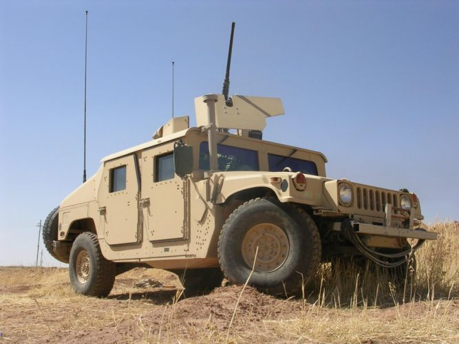 2007 HMMWV M1165 hummer military 4x4 offroad weapon weapons s wallpaper