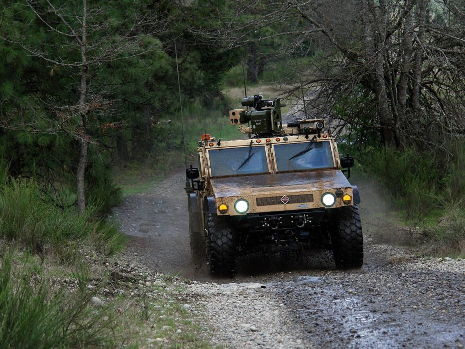 2007 International FTTS 4x4 offroad military weapon weapons wallpaper