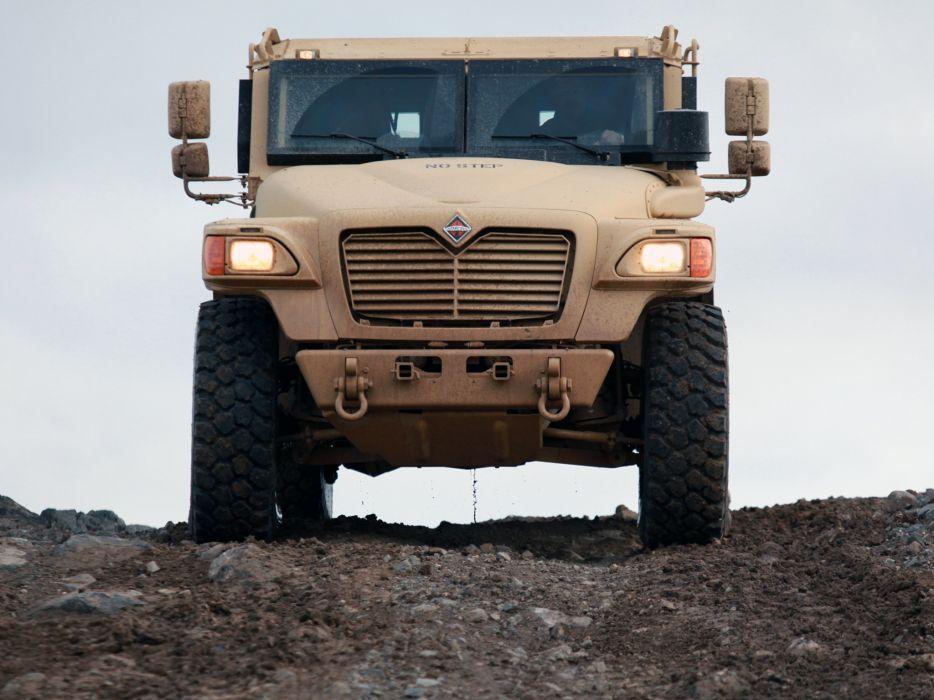 2007 International MXT-MVA 4x4 military truck trucks r wallpaper
