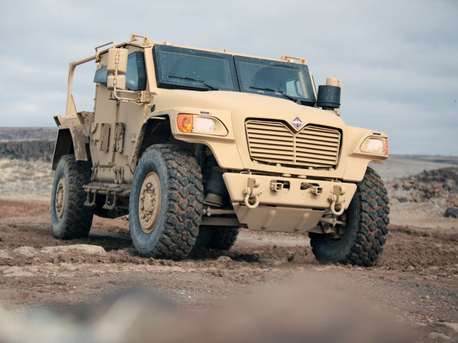 2007 International MXT-MVA 4x4 military truck trucks wallpaper