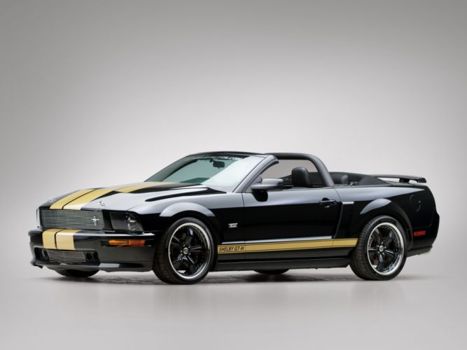 2007 Shelby GT-H Convertible ford mustang muscle q wallpaper