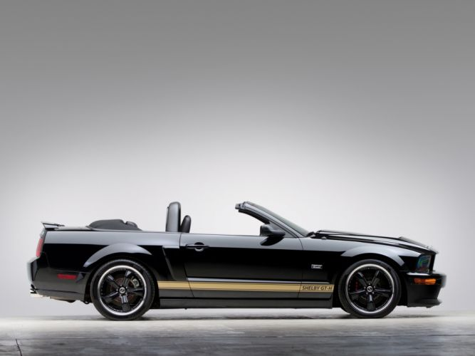 2007 Shelby GT-H Convertible ford mustang muscle e wallpaper