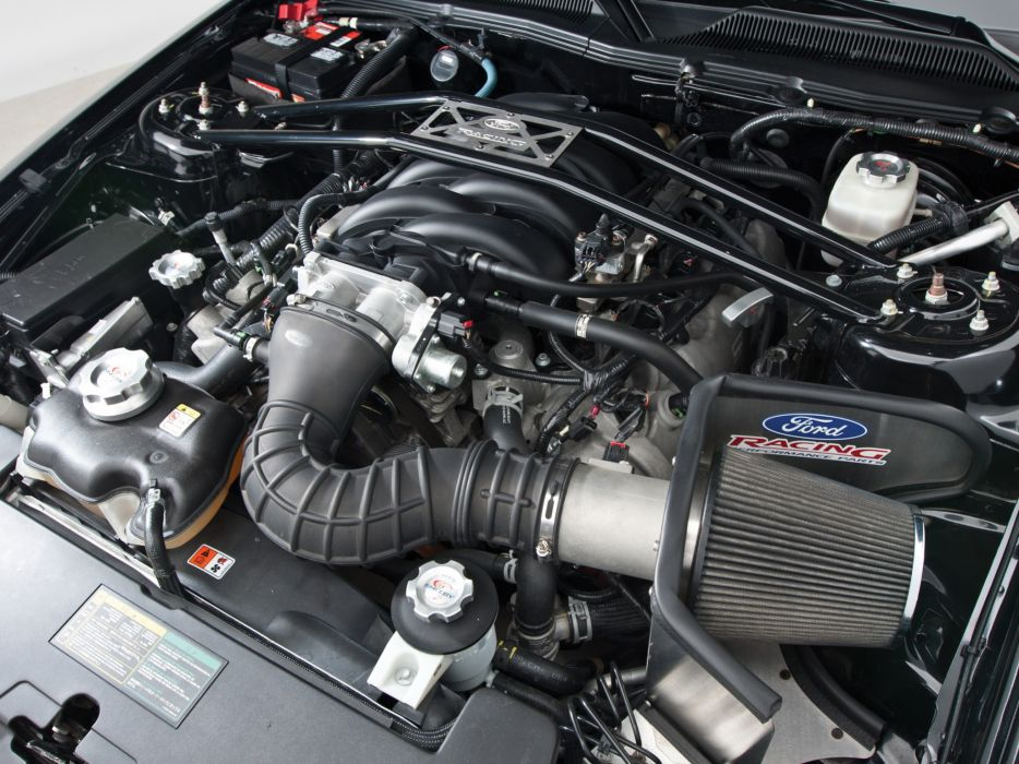 2007 Shelby GT-H Convertible ford mustang muscle engine engines wallpaper