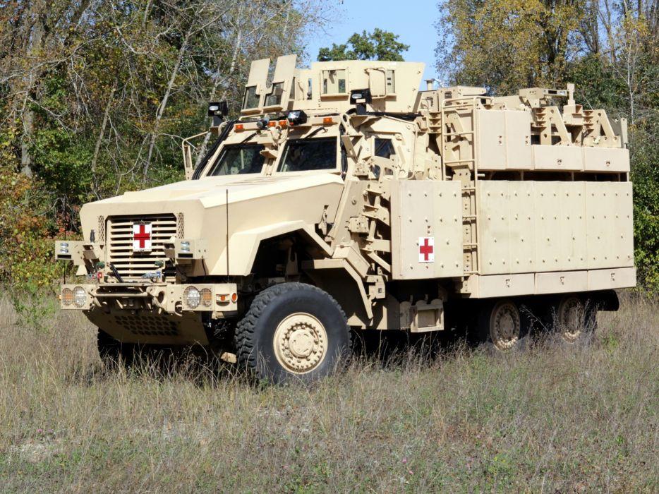 2008 BAE RG33L MRRMV Ambulance military 6x6 truck trucks q wallpaper