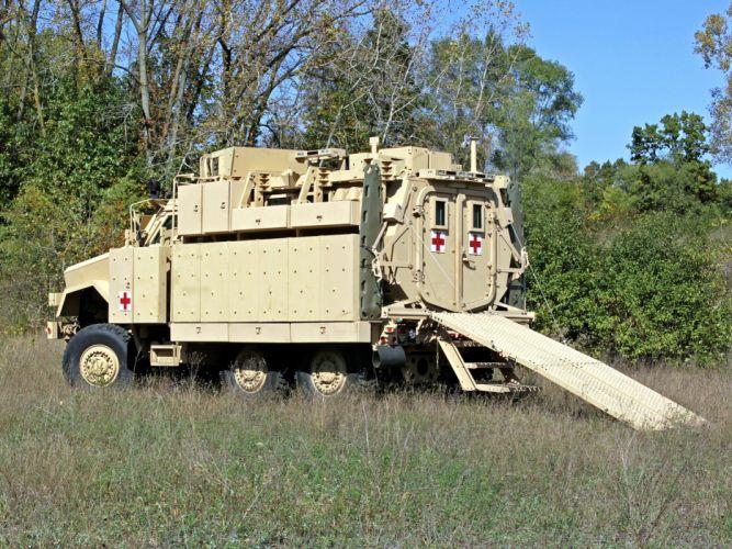 2008 BAE RG33L MRRMV Ambulance military 6x6 truck trucks wallpaper