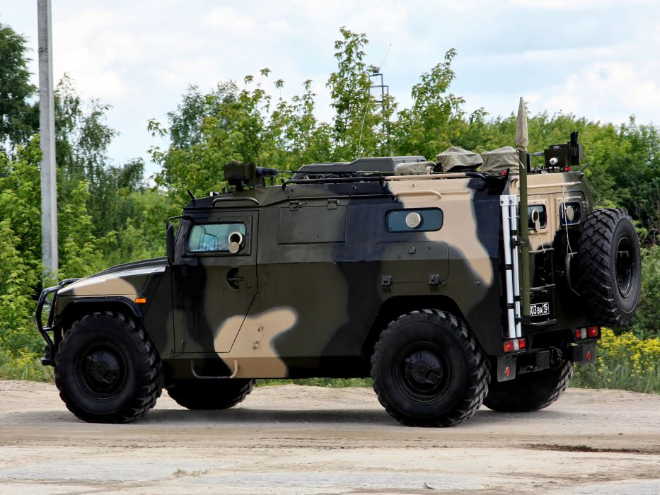 2008 GAZ Powertrain R-145BMA 4x4 military  g wallpaper