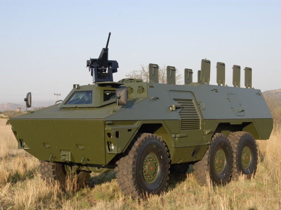 2009 BAE iKwla military 6x6 weapon weapons apc e wallpaper