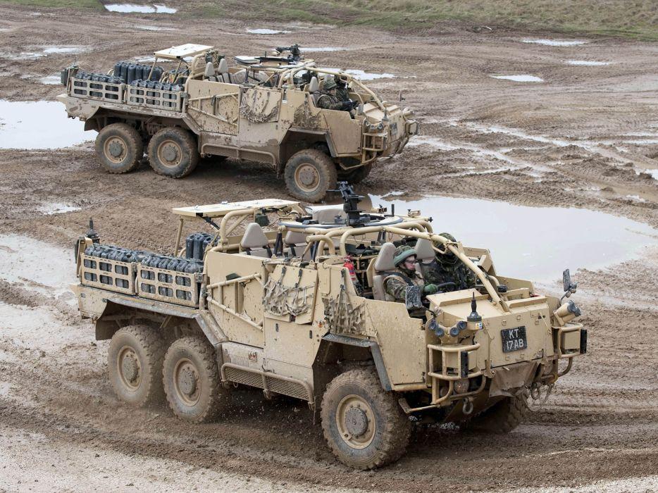 2009 Coyote TSV 6x6 military f wallpaper