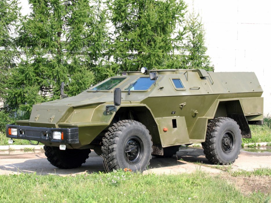 2009 KamAZ 43269 BMP-97 bmp 4x4 military f wallpaper