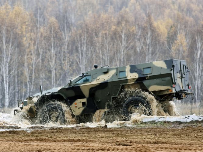 2009 KamAZ 43269 BMP-97 bmp 4x4 military e wallpaper
