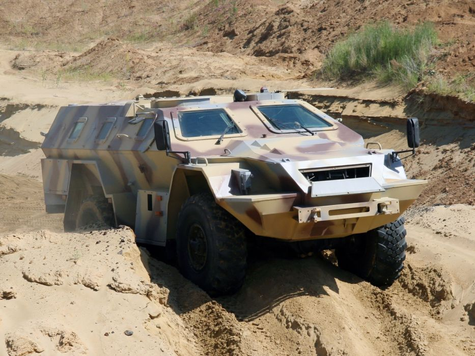 2009 KamAZ 43269 BMP-97 bmp 4x4 military q wallpaper