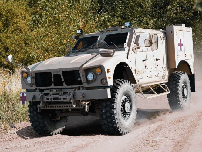 2009 Oshkosh M-ATV Ambulance 4x4 military wallpaper