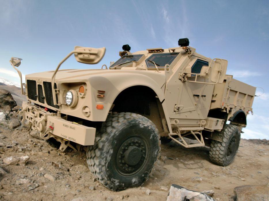 2009 Oshkosh M-ATV Utility 4x4 military wallpaper
