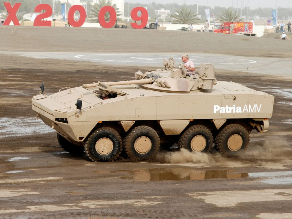 2009 Patria AMV 8x8 BMP military wallpaper