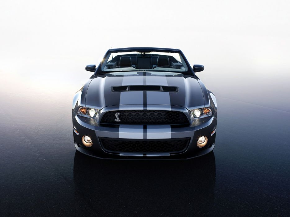 2009 Shelby GT500 Convertible SVT ford mustang muscle   ff wallpaper