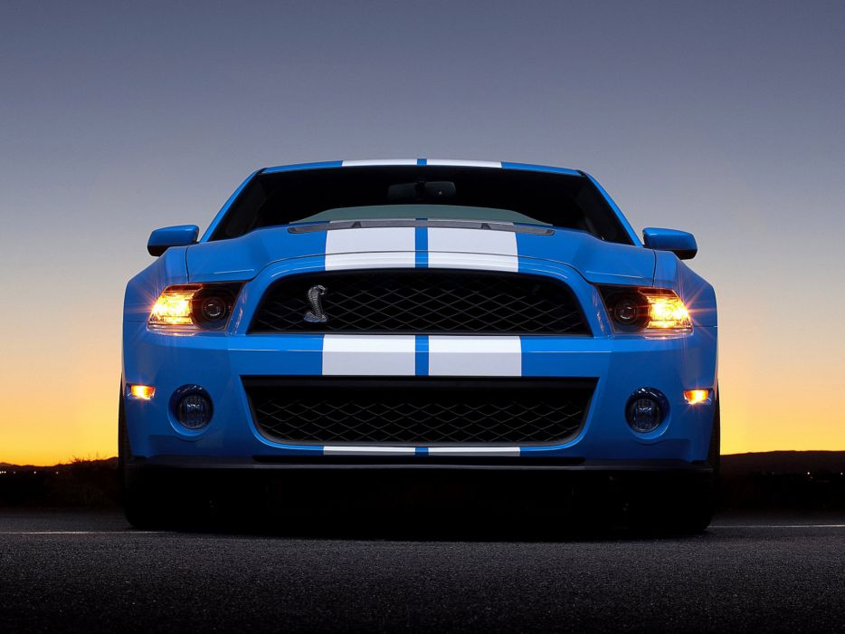 2009 Shelby GT500 ford mustang muscle a wallpaper