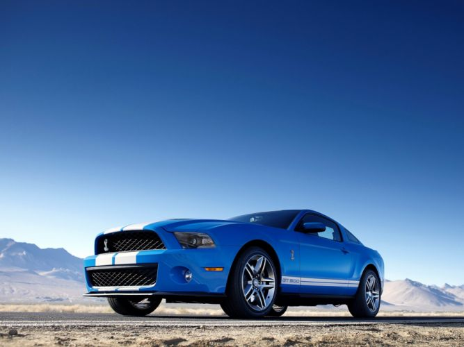 2009 Shelby GT500 ford mustang muscle w wallpaper