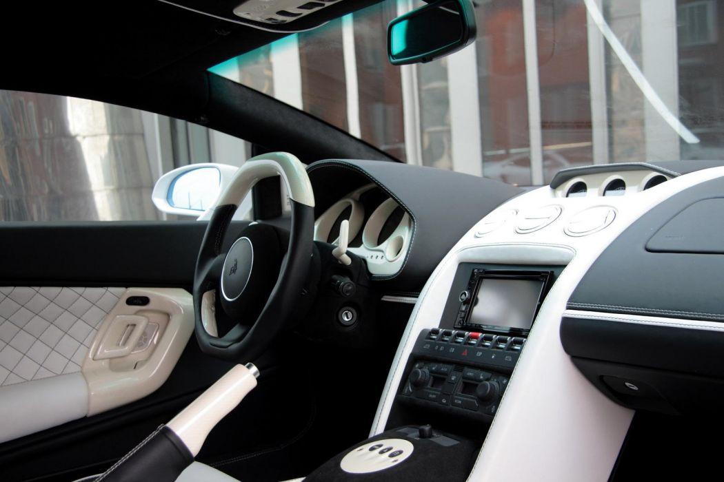 2010 Anderson-Germany Lamborghini Gallardo supercar supercars interior wallpaper