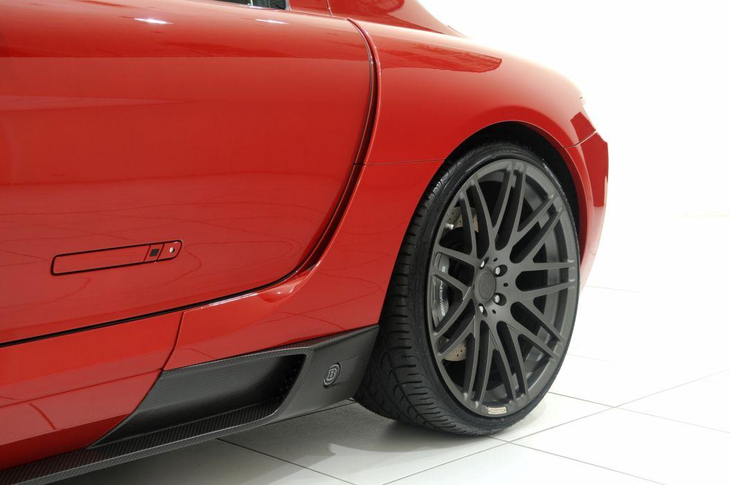 2010 BRABUS Mercedes Benz SLS WIDESTAR supercar supercars wheel wheels  f wallpaper